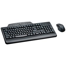 Ensemble clavier / souris multimédia sans fil Pro Fit®
