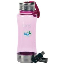 """Bios H2O"" water bottle  /  USB flash drive"