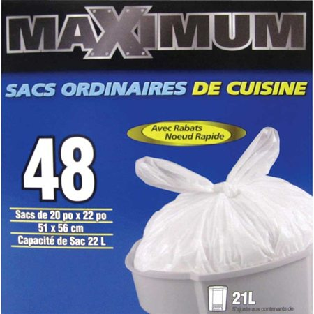 Sac à ordures de cuisine Maximum