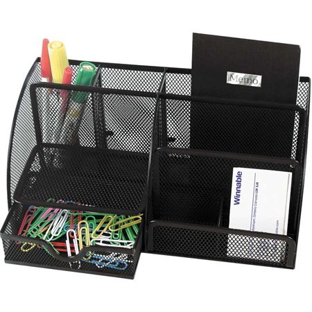 organisateur de bureau mesh. Black Bedroom Furniture Sets. Home Design Ideas