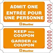 Billets d'admission