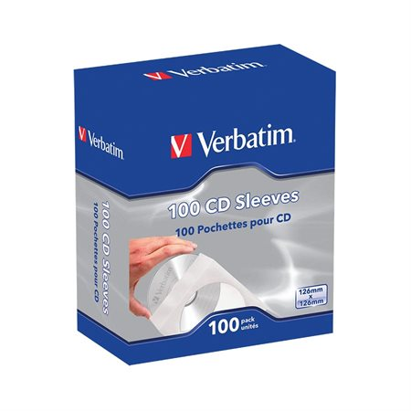 CD  /  DVD Paper Sleeves with Clear Window