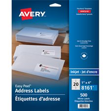 Easy Peel® White Mailing Labels