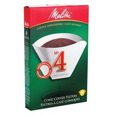 Melitta® No 4 Coffee Filters