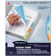 """View-Tab"" dividers"